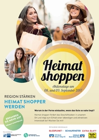 Heimat shoppen am 8. und 9. September 2017